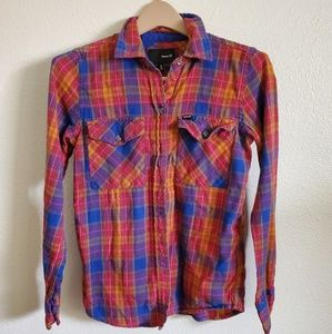 Hurley flannel gently worn